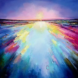 Light Burst IV by Anna Gammans -  sized 32x32 inches. Available from Whitewall Galleries